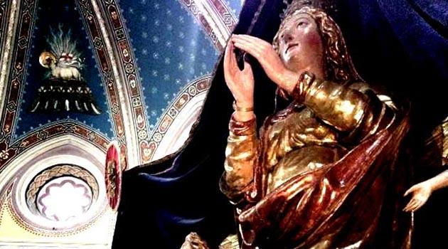 """""""La statua di Maria SS: Assunta in Cielo, Madonna di Monterubiaglio"""" incontro con gli esperti"""
