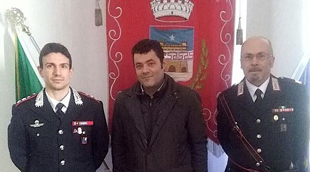Sicurezza e prevenzione al centro dell'incontro tra Comune e Arma dei Carabinieri