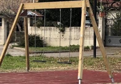 Nuovi giochi nelle aree verdi del Comune di Castel Viscardo
