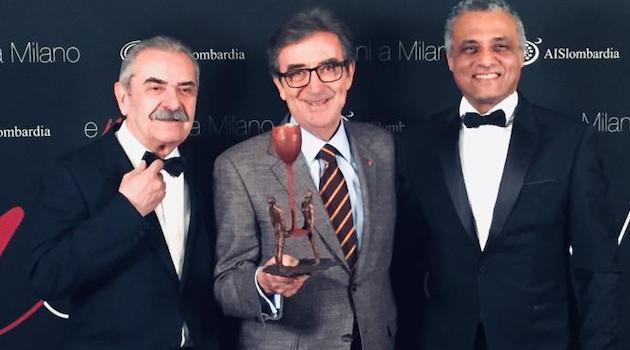 """A Riccardo Cotarella il premio """"Enozioni"""" AIS Lombardia"""