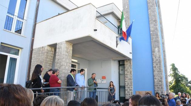 Inaugurata la scuola green di Castel Viscardo