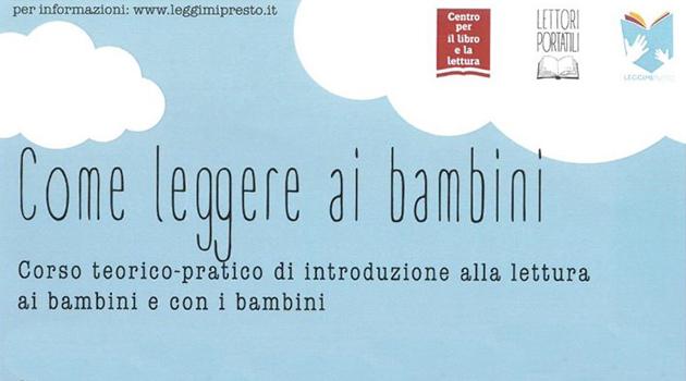 """""""Come leggere ai bambini"""", a Castel Viscardo un corso con i Lettori Portatili"""